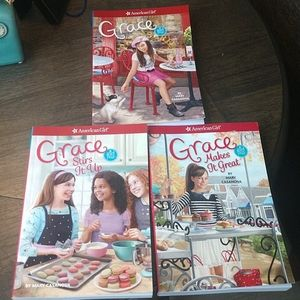 American Girl of the Year Grace Books 1-3